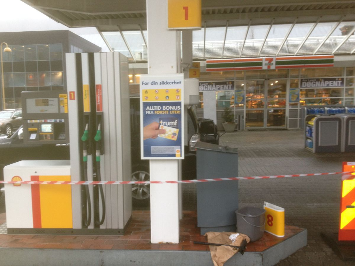 Safety pass for montering hos Shell